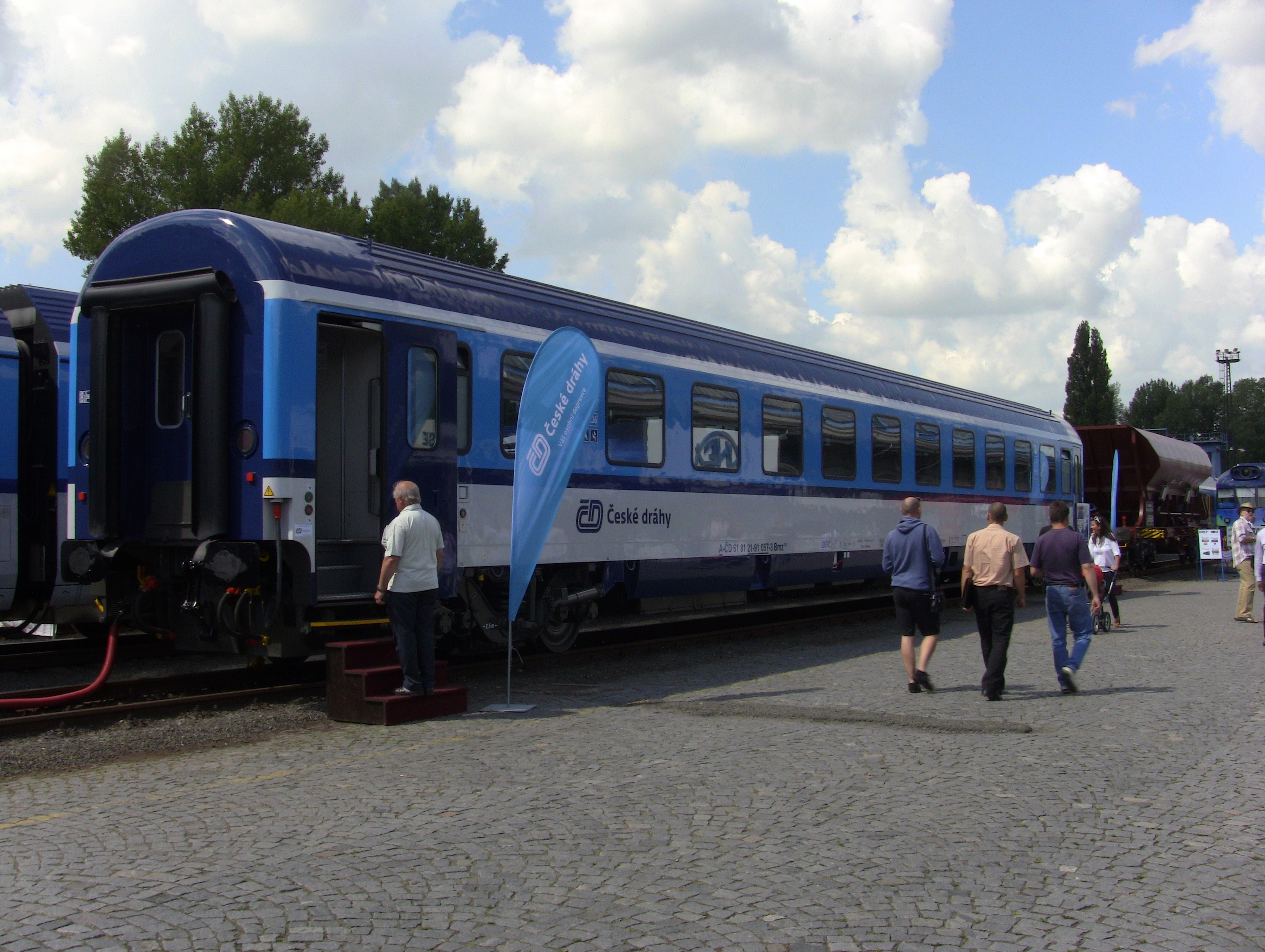 ČD Bmz 235 na Czech RailDays 2014
