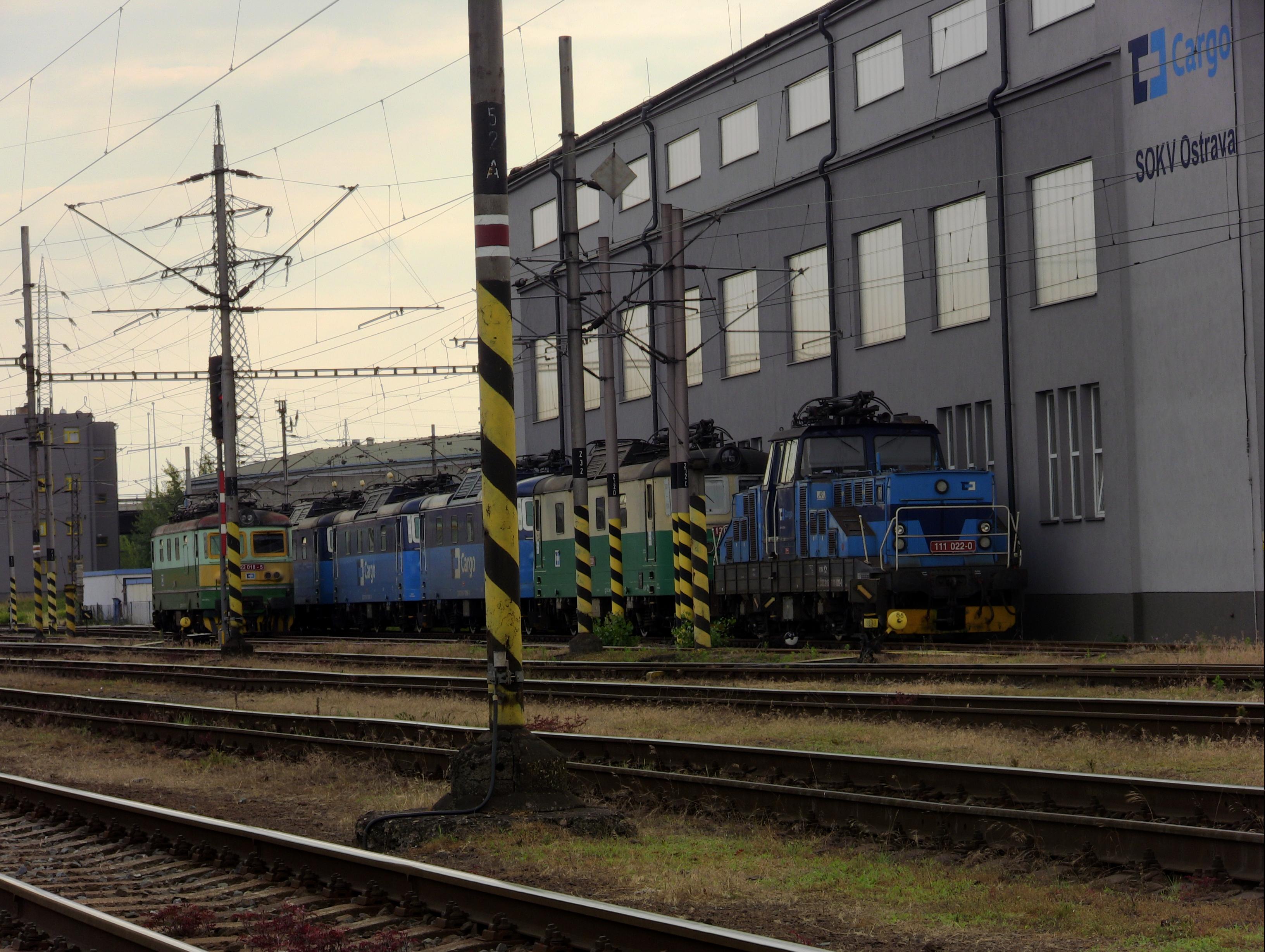 Odstavené lokomotivy