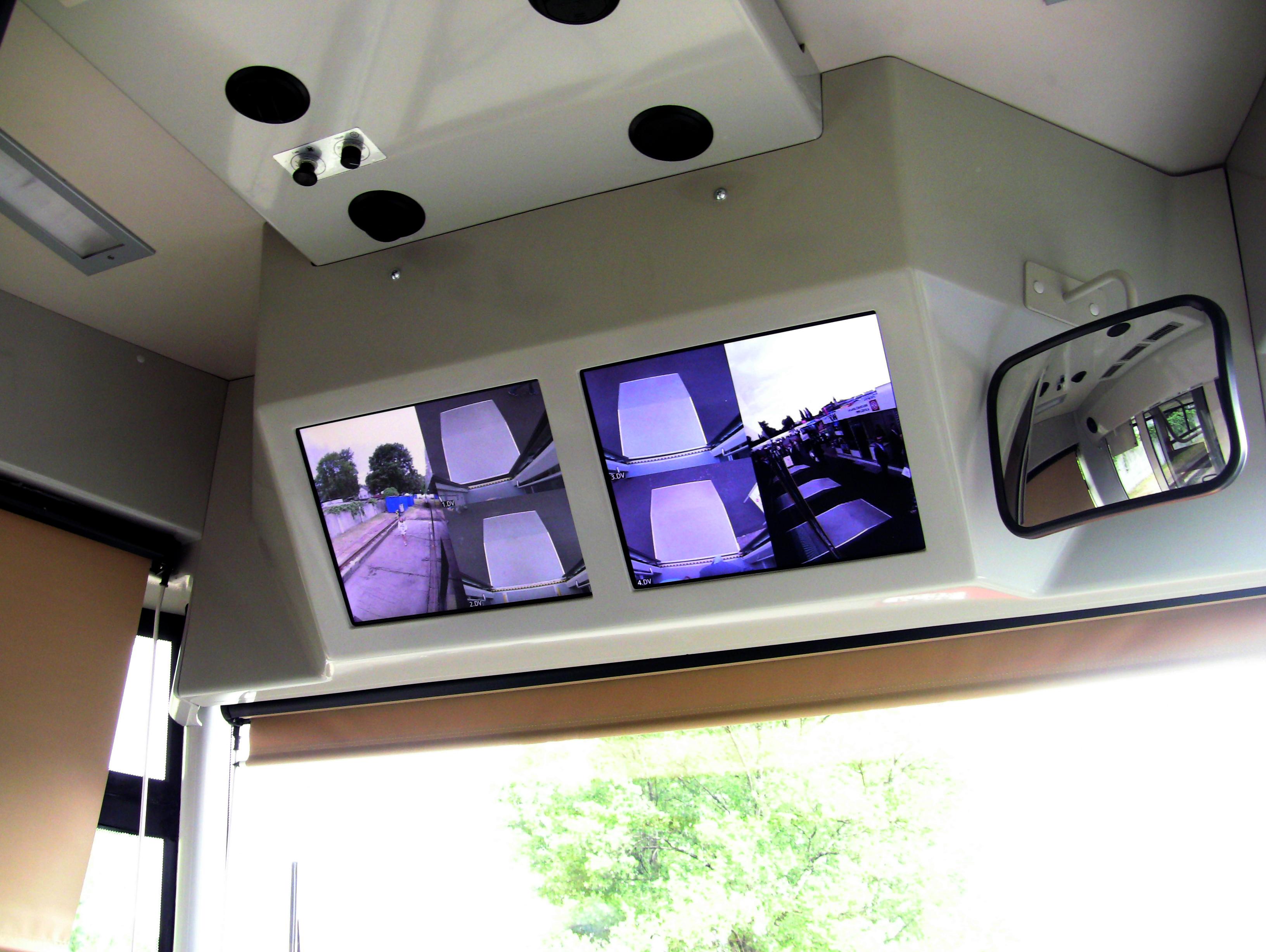 EVO 1 kabina řidiče