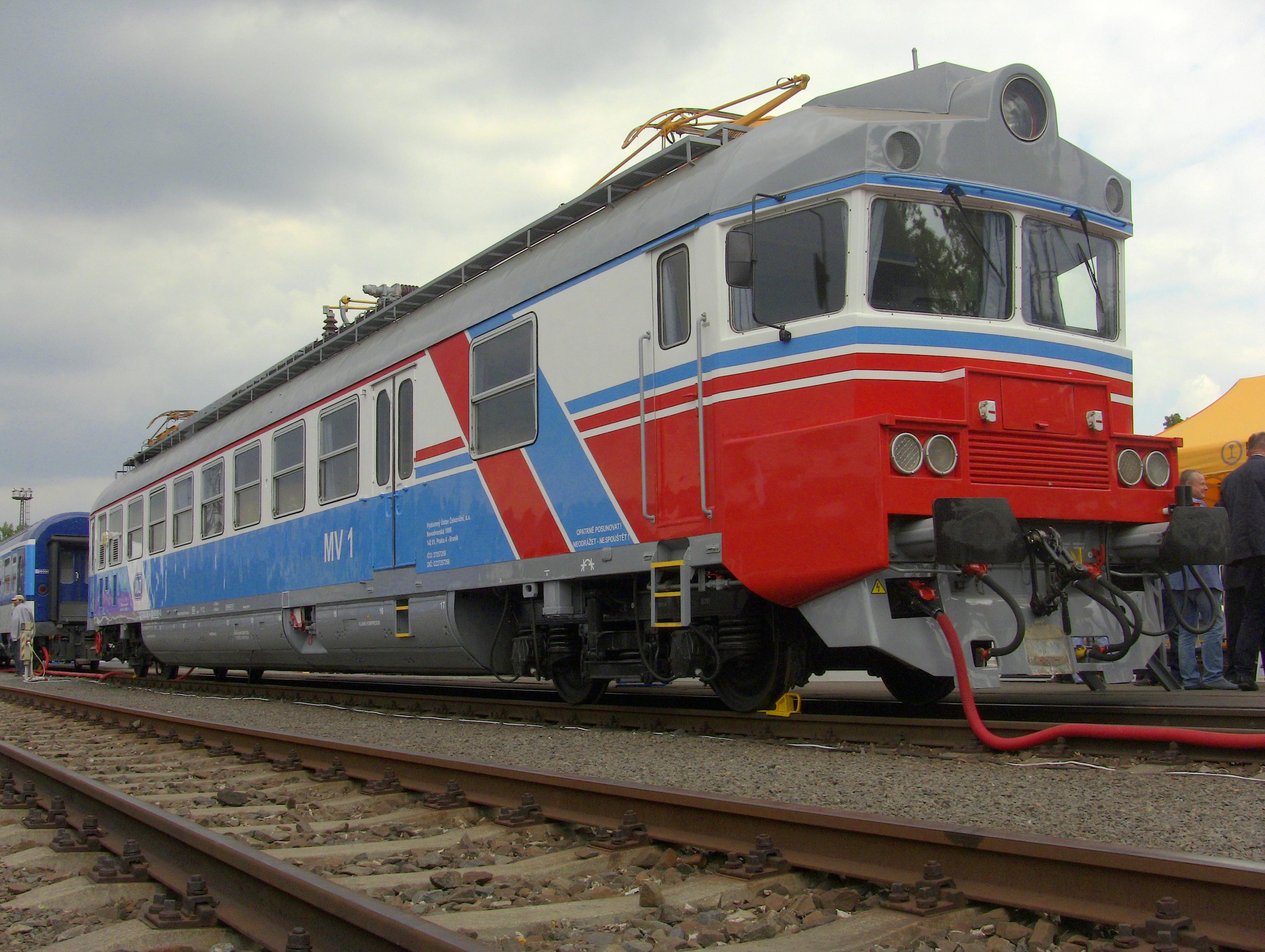 Měřící vůz MS1.