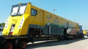 Lokomotiva Linsinger SF02T-FS, design asi od autorů Transformers... Zdroj: Twitter - @InnoTrans