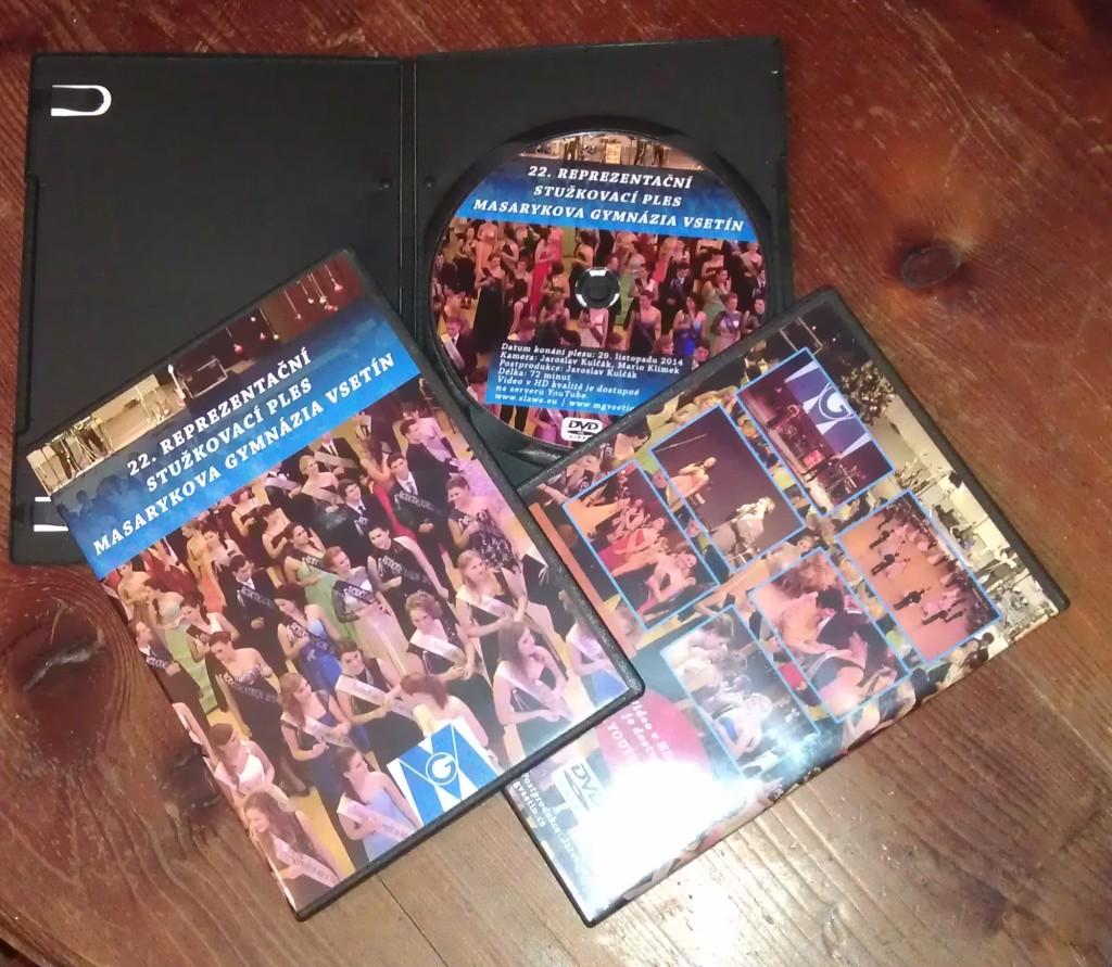 DVD stužkovacího plesu