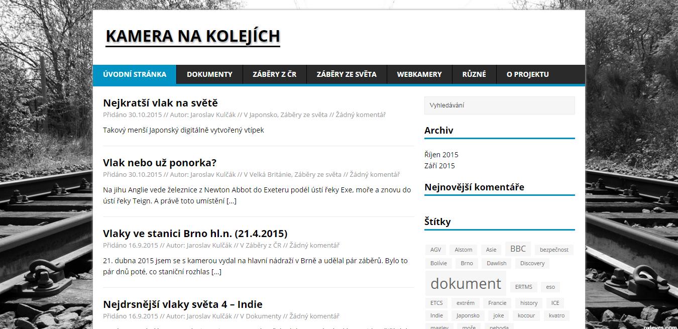 KameraNaKolejich.cz